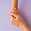 Milk&Moo Arı Vız Vız Gümüş Anne Kız Bileklik. ürün görseli