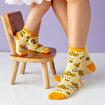 Milk&Moo Anne Bebek Çorabı 8'li Set Arı Vız Vız ile Çançin . ürün görseli