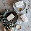 Milavanda 3'lü Keçi Sütlü Katı Sabun Seti . ürün görseli