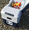 Mobicool FR34 12/24/220Volt AC/DC 31 Litre Kompresörlü Oto Buzdolabı. ürün görseli