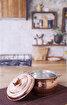 Serenk Bakır Mini Güveç 15 cm. ürün görseli