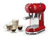 SMEG ECF01RDEU Kahve Makinesi Kırmızı. ürün görseli