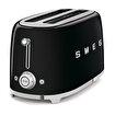 Smeg Paslanmaz Çelik Siyah 2x2 Ekmek Kızartma Makinesi. ürün görseli
