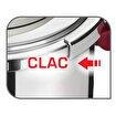 Tefal Clipso+Precision Katlanabilir Saplı 8L Düdüklü Tencere. ürün görseli
