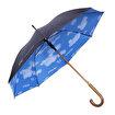 TK Collection Bulut Desen Baston Şemsiye. ürün görseli