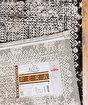 Koza Pera Siyah Krem Akrilik Halı 45686A,80 x 150. ürün görseli