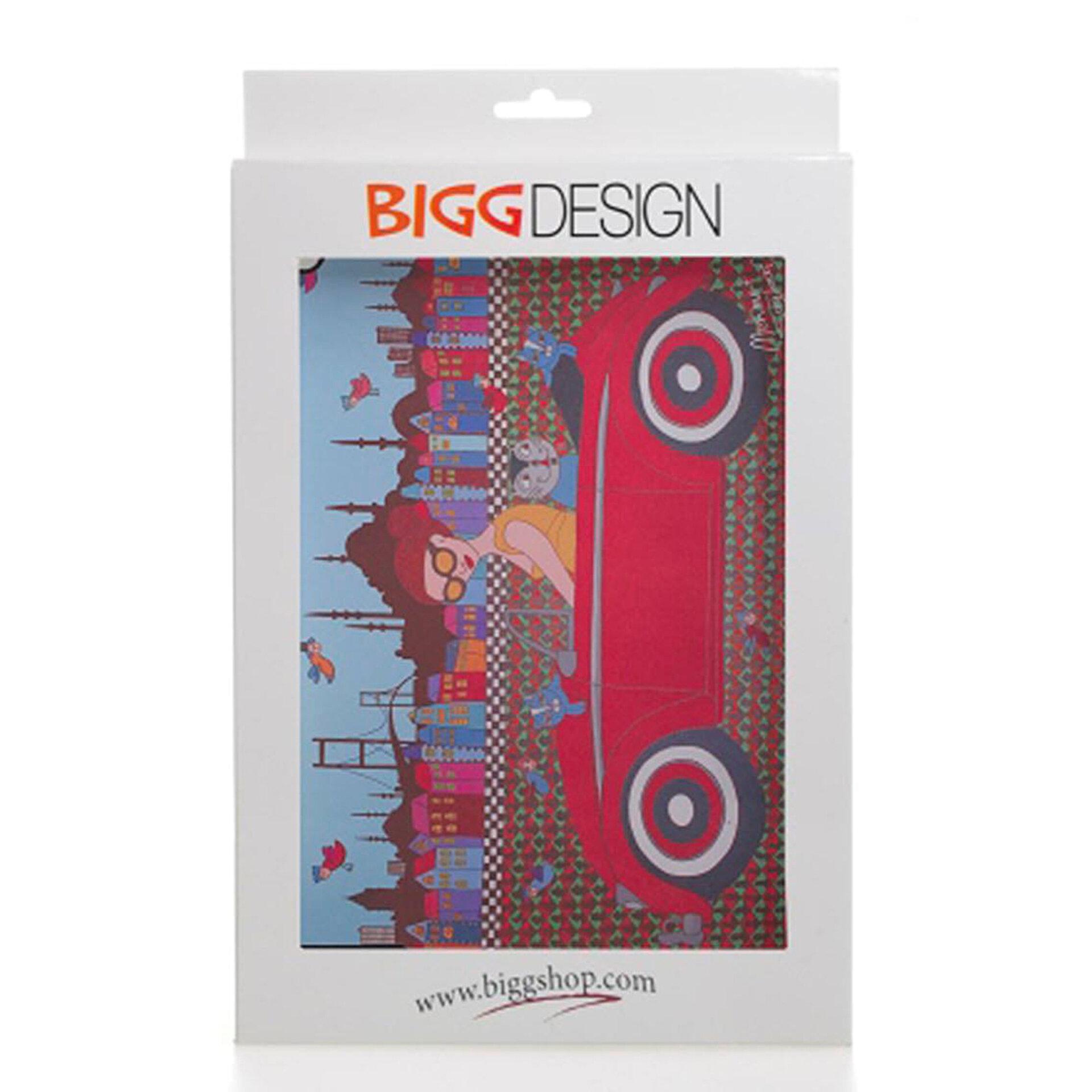 Picture of Biggdesign iPad Siyah Kapak Arabalı Kız
