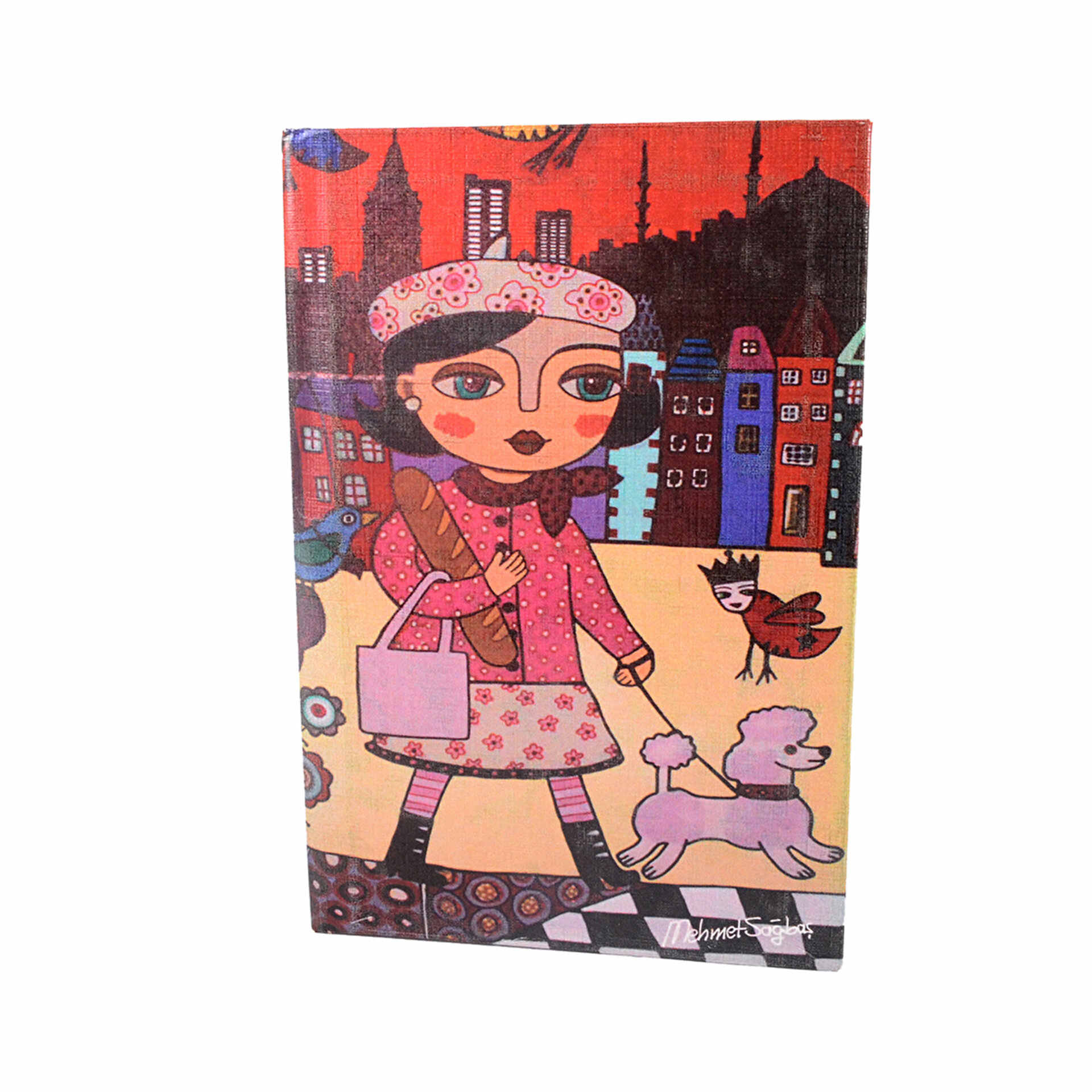 Picture of BiggDesign Şehri Masal Defter 9X14
