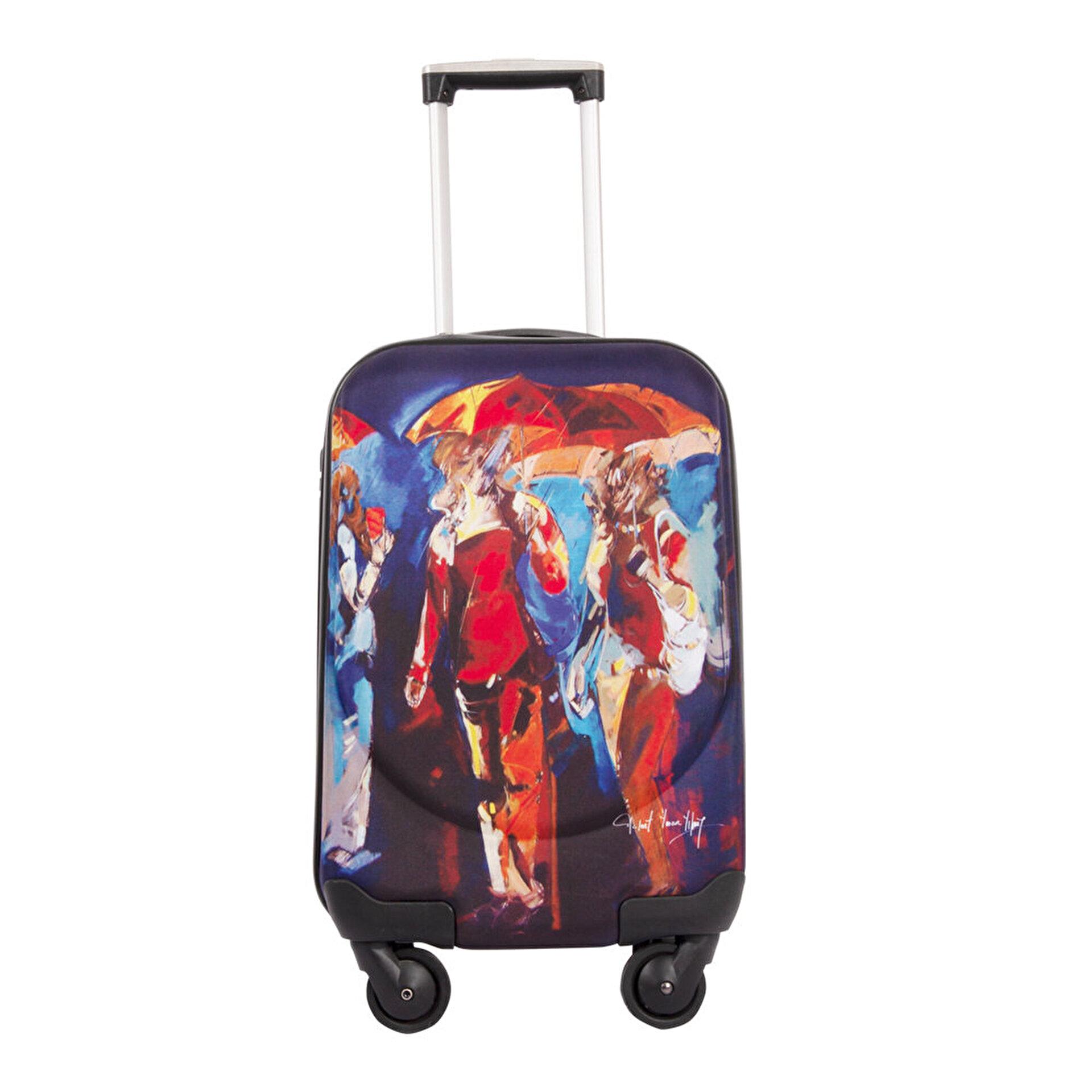 Picture of BiggDesign Şemsiyeler Kabin Boy Kanvas Valiz 18 inch