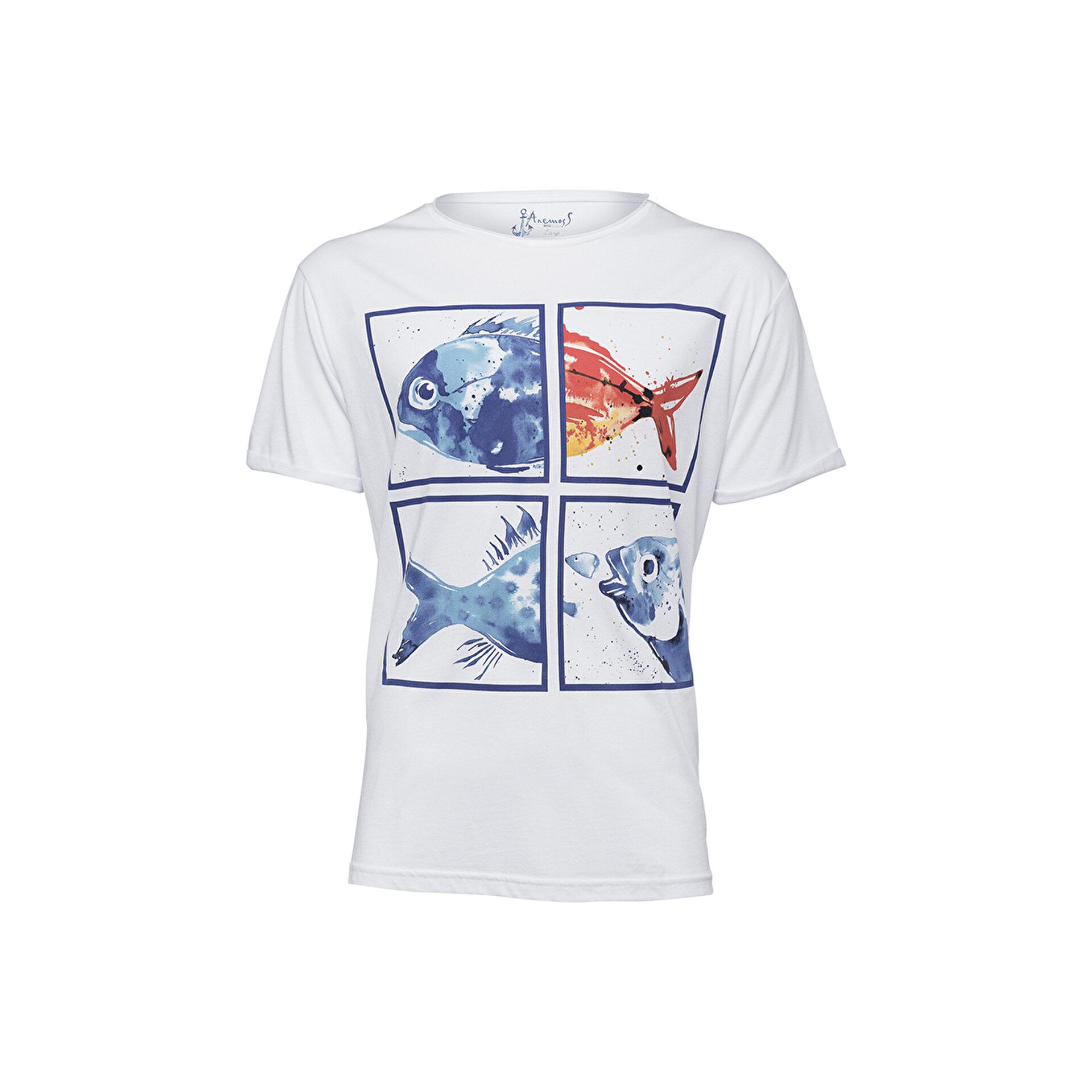 Picture of Biggdesign AnemosS Akvaryum Erkek T-Shirt