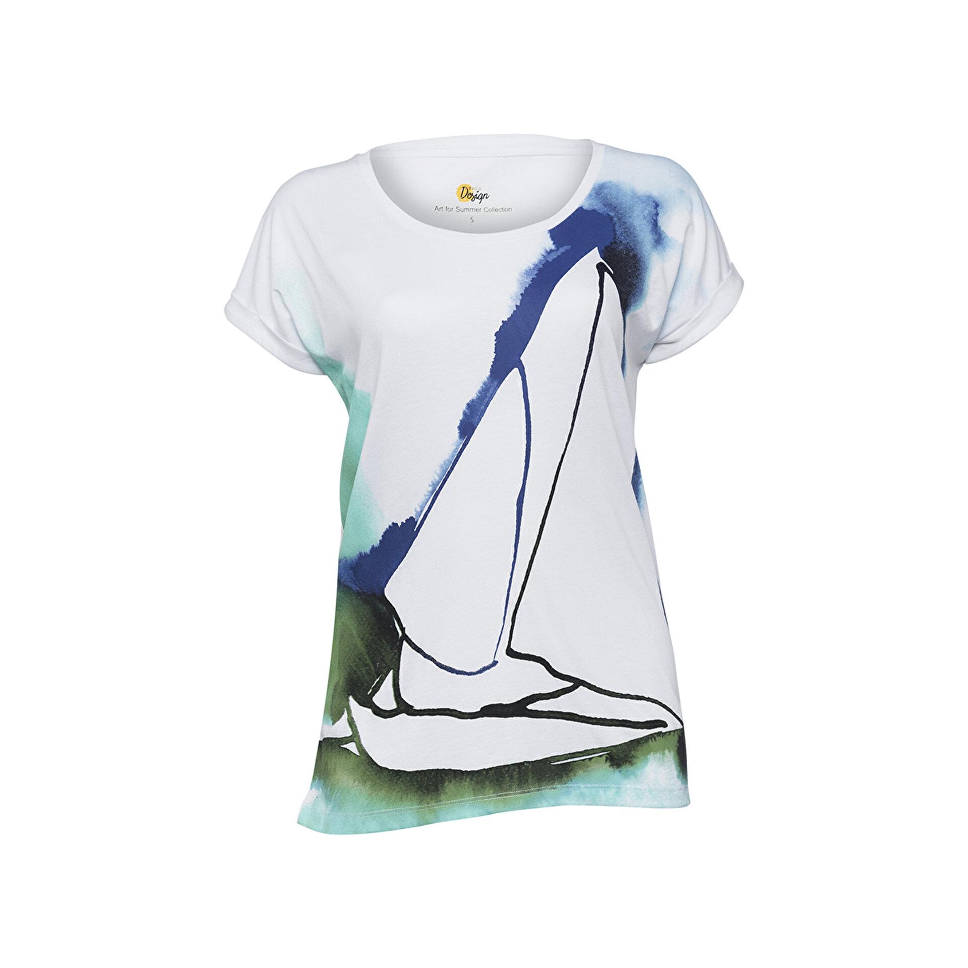 Picture of Biggdesign Anemoss Yelken Kadın T-Shirt