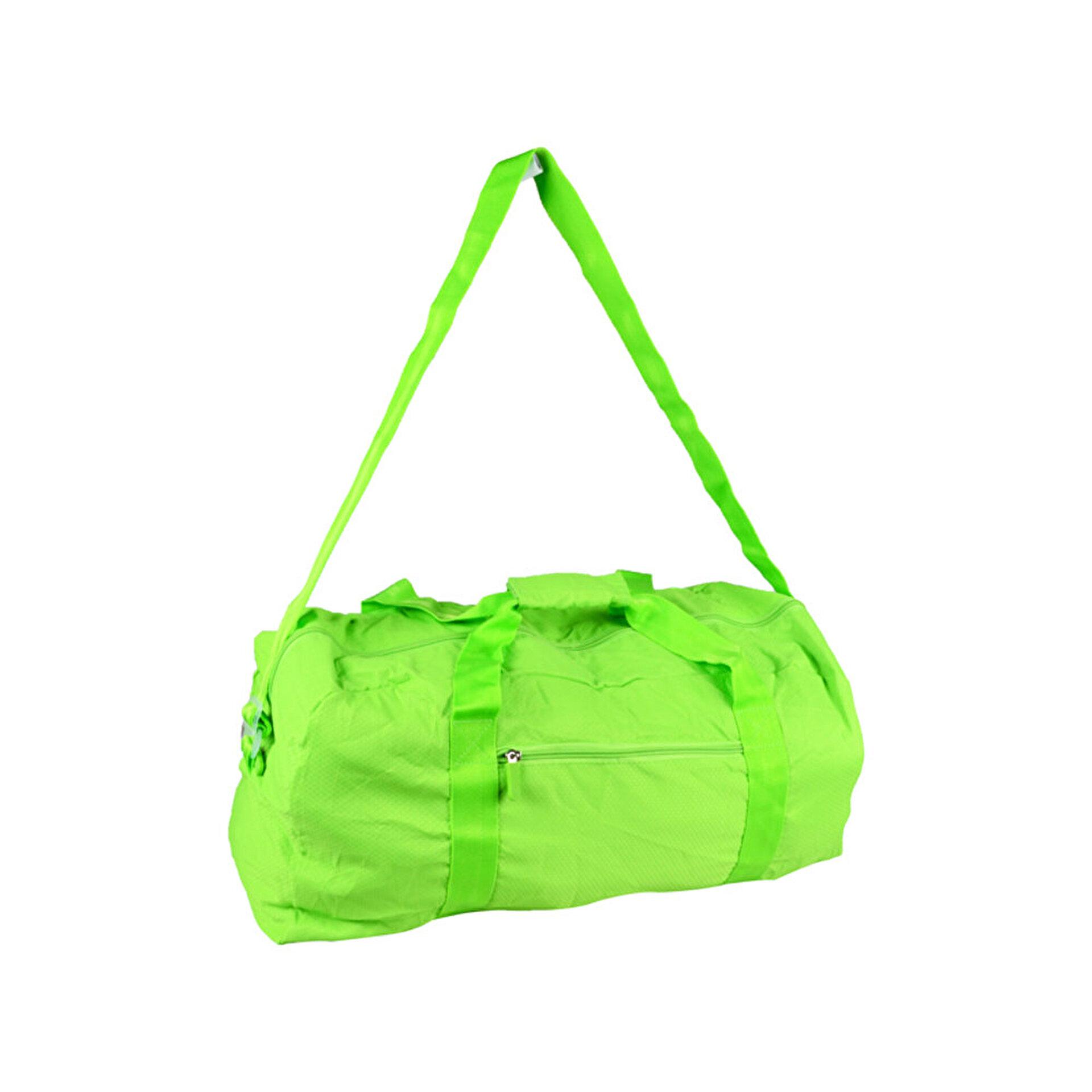 Picture of Biggfashion Yeşil Katlanabilir Duffel Çanta