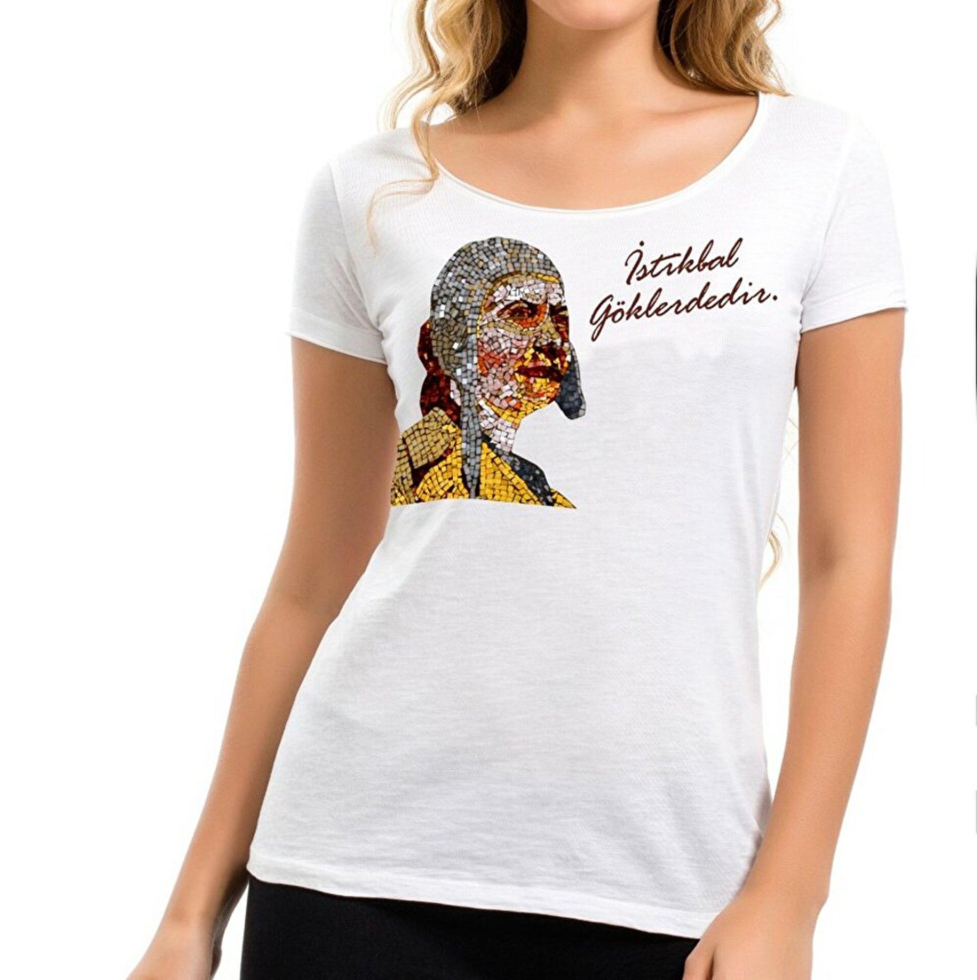 Picture of THK Design Sabiha Gökçen Kadın T-Shirt