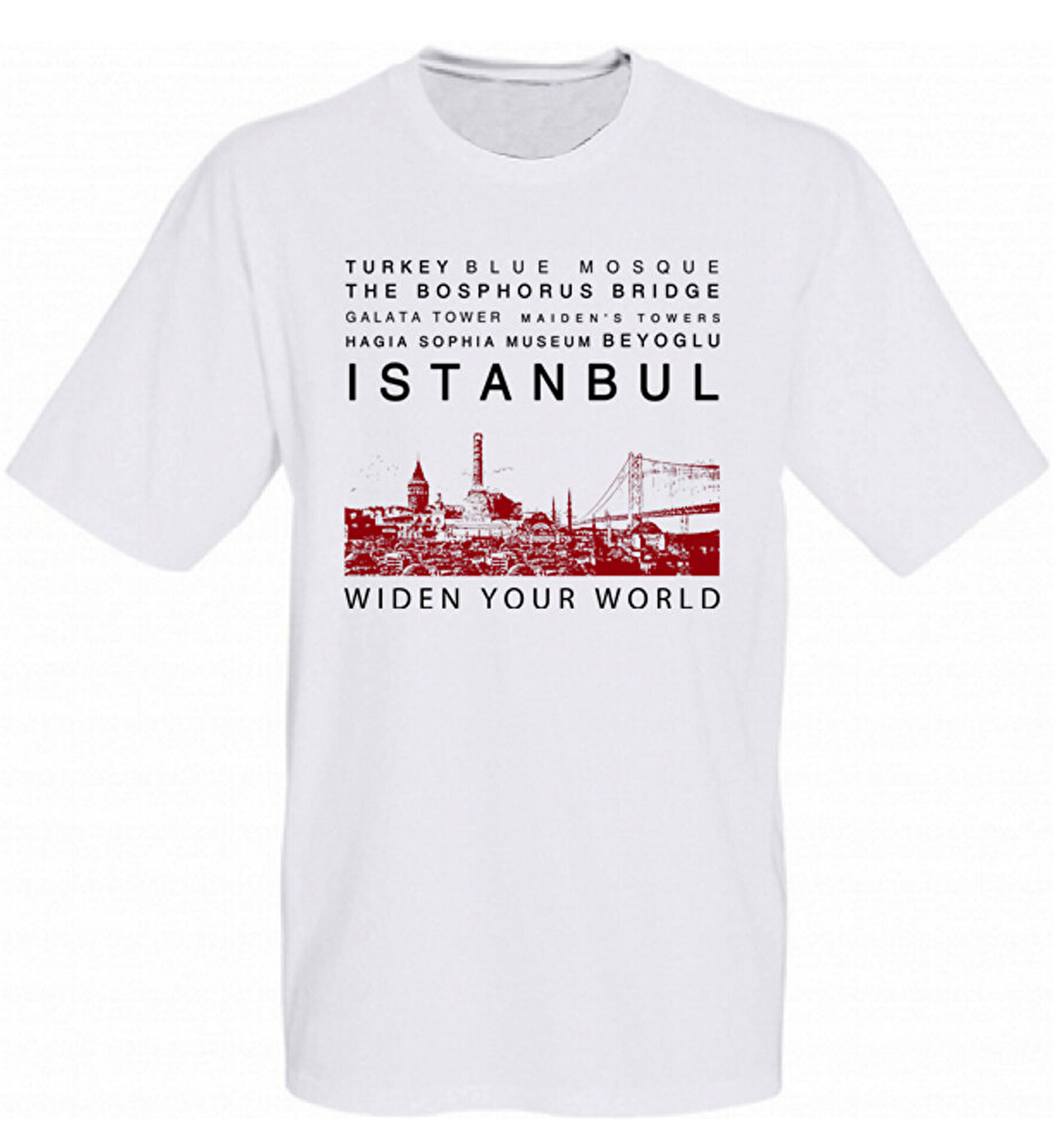 Picture of TK Collection İstanbul T-Shirt