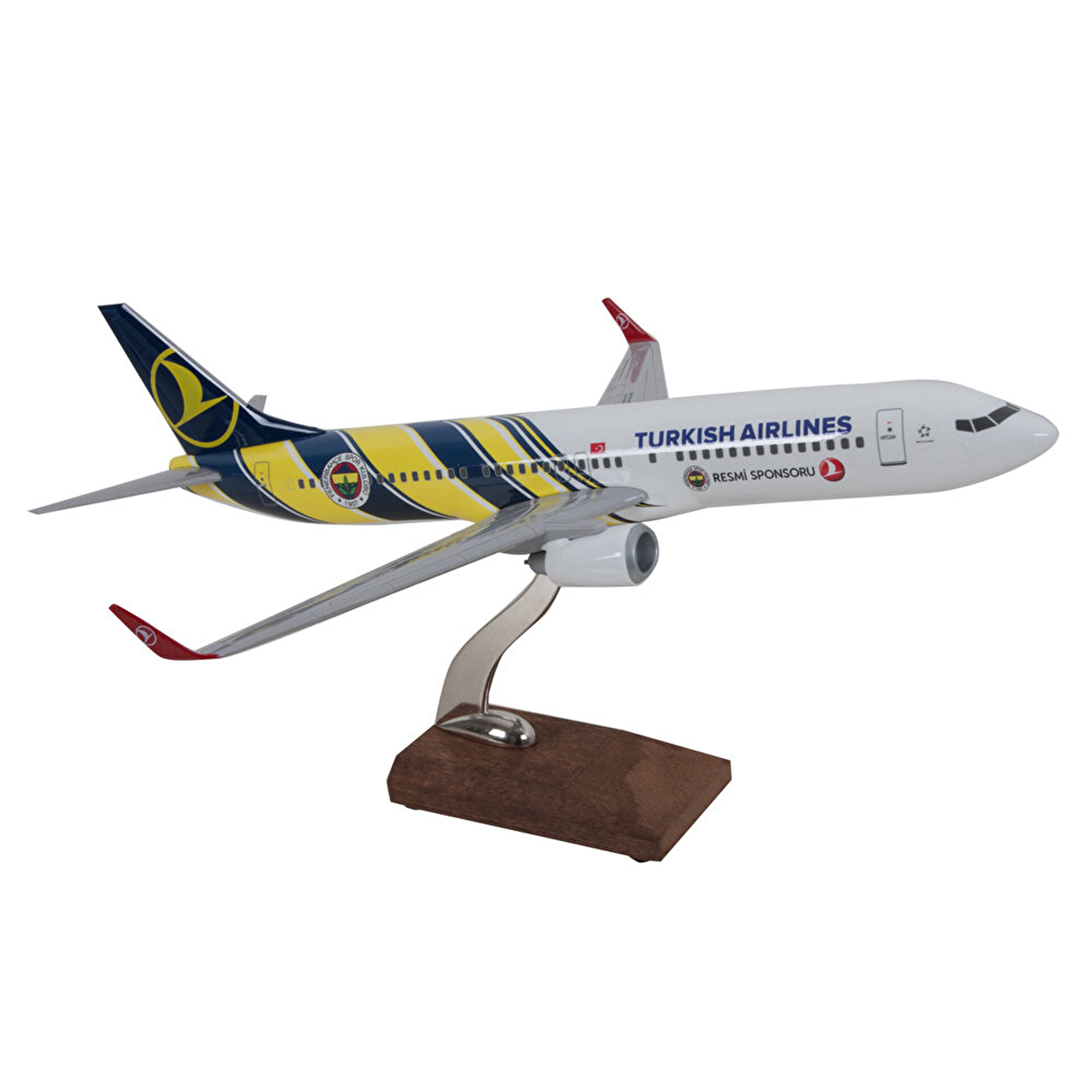 Picture of TK Collection B737-800 1/100 FB Model Uçak