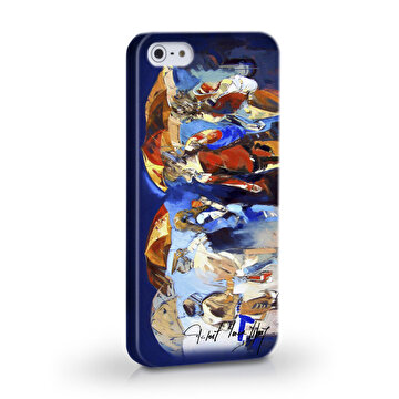 Picture of Biggdesign Şemsiyeli İnsanlar iPhone 5/5S Kapak