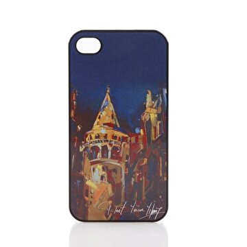 Picture of BiggDesign iPhone 4/4S Siyah Kapak Galata