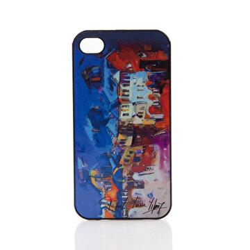 Picture of BiggDesign iPhone 4/4S Siyah Kapak Karanlık Sokak