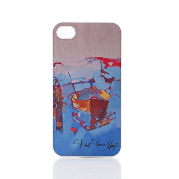 Picture of Biggdesign iPhone 4/4S Beyaz Kapak Sandal