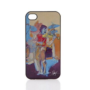 Picture of Biggdesign iPhone 4/4S Siyah Kapak Kemancılar