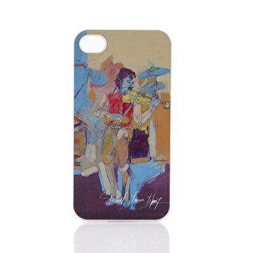 Picture of Biggdesign iPhone 4/4S Beyaz Kapak Kemancılar