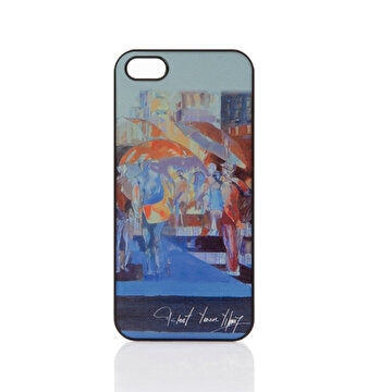 Picture of Biggdesign iPhone 4/4S Siyah Kapak Şemsiyeler