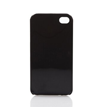 Picture of BiggDesign iPhone 5/5S Siyah Kapak Kedili Kız