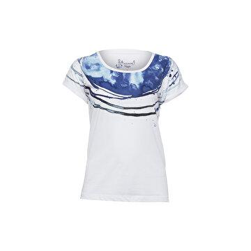 Picture of Biggdesign AnemosS Rota Beyaz Kadın T-Shirt