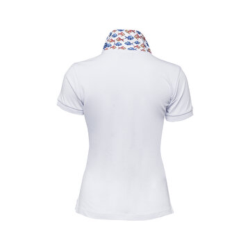 Picture of Biggdesign Anemoss Akvaryum Kadın Polo Yaka T-Shirt