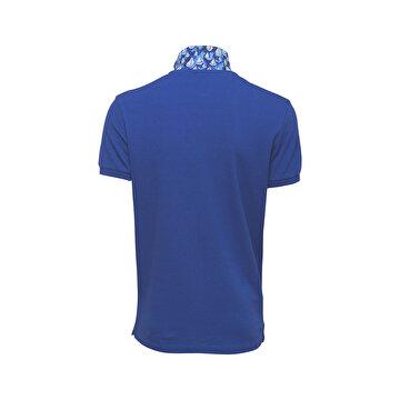 Picture of Biggdesign Anemoss Yelken Mavi Erkek Polo Yaka T-Shirt