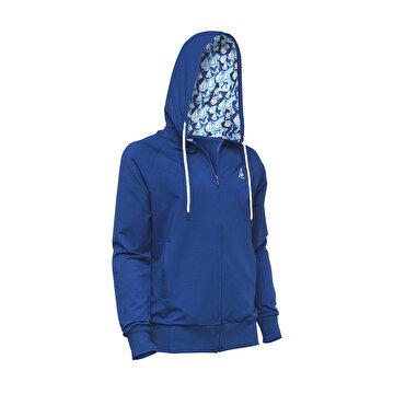 Picture of Biggdesign Anemoss Lacivert Yelken Erkek Fermuarlı Sweatshirt