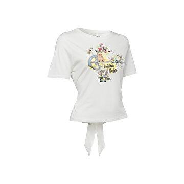 Picture of BiggDesign Nature Pedaldaki Bahçe Kadın T-shirt
