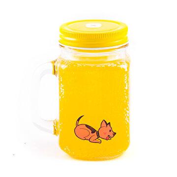Picture of Biggdesign Dogs Kulplu Limonata Bardağı