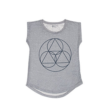 Picture of BiggDesign BiggYoga Namaste Gri T-Shirt