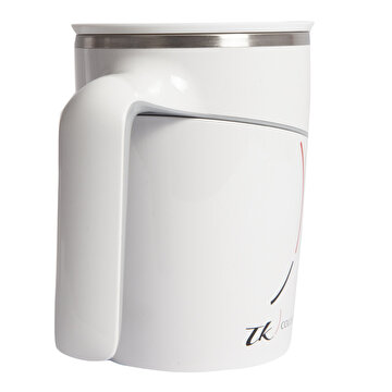 Picture of TK Collection Beyaz Vakumlu Devrilmez Mug New Design
