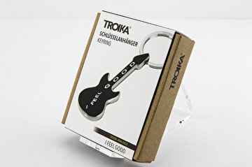 Picture of Troika Kr9-02/Bk İ Feel Good Gitar Anahtarlık