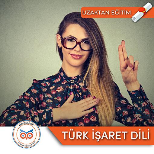 Akademi Duru Online Türk İşaret Dili Sertifika Programı. ürün görseli