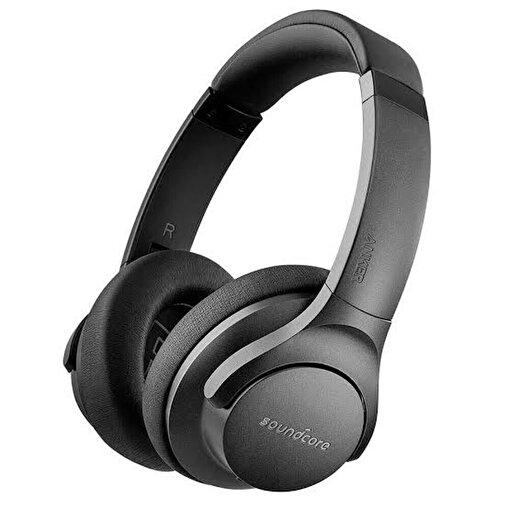 Anker SoundCore Life2 Bluetooth Kulak Üstü Kulaklık Aktif Gürültü Önleyici Siyah. ürün görseli