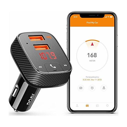 Anker Roav Smartcharge F2 Akıllı Araç Bulucu Bluetooth Hızlı Araç Şarjı  - OFP. ürün görseli
