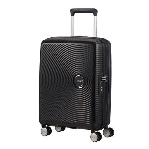 American Tourister Sundbox-Spinner 4 Tekerlekli 55 cm Siyah. ürün görseli
