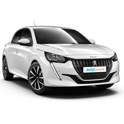 Avec Rent A Car 1 Günlük Peugeot 208 Araç Kiralama. ürün görseli