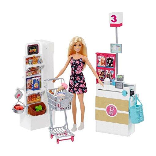 BRB Barbie Süpermarkette Oyun Seti. ürün görseli