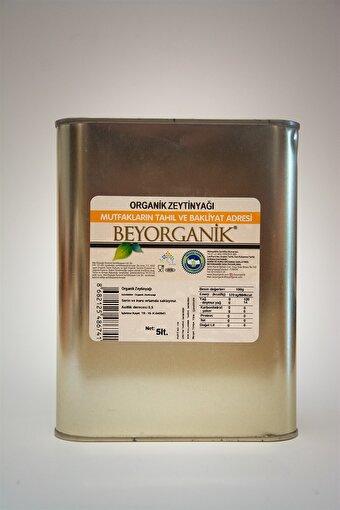 Beyorganik Organik Soğuk Sıkım Zeytinyağı 5 Lt.. ürün görseli
