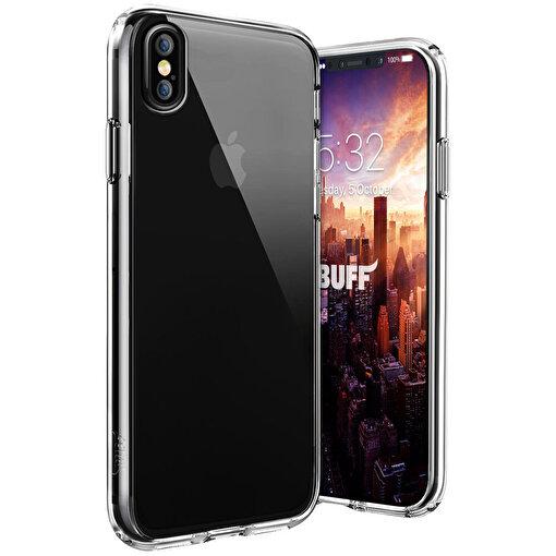 Buff iPhone X Air Hybrid Kılıf Crystal Clear. ürün görseli