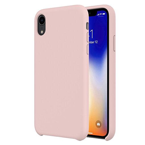 Buff iPhone XR Rubber Fit Kılıf Pink Sand. ürün görseli