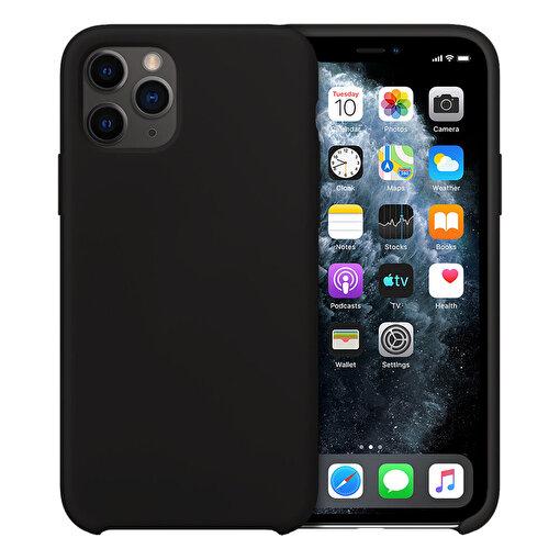 Buff iPhone 11 Pro Rubber Fit Kılıf Black. ürün görseli