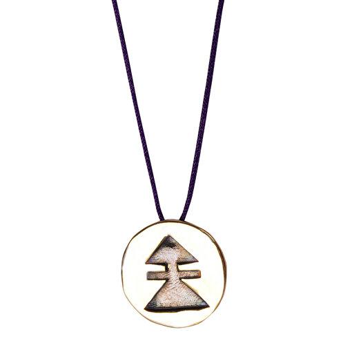 Biggdesign Beş Kız Kardeş Zehra Gümüş Kolye. ürün görseli