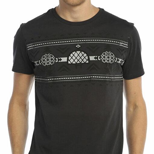 Biggdesign Güneş Kursu Antrasit Erkek T-Shirt. ürün görseli