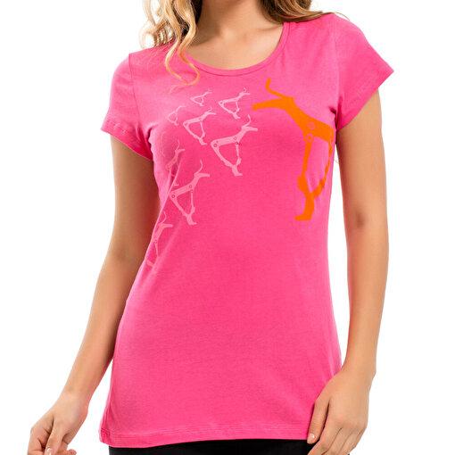 Biggdesign B.C.3000 Geyik Kadın T-Shirt. ürün görseli