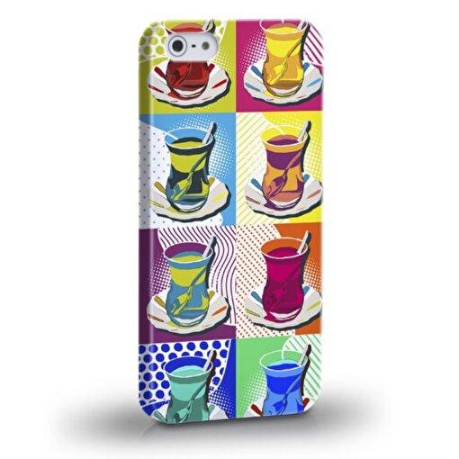 Biggdesign Çay Bardağı iPhone 4/4S Kapak - Model - İPHONE 5/5S. ürün görseli